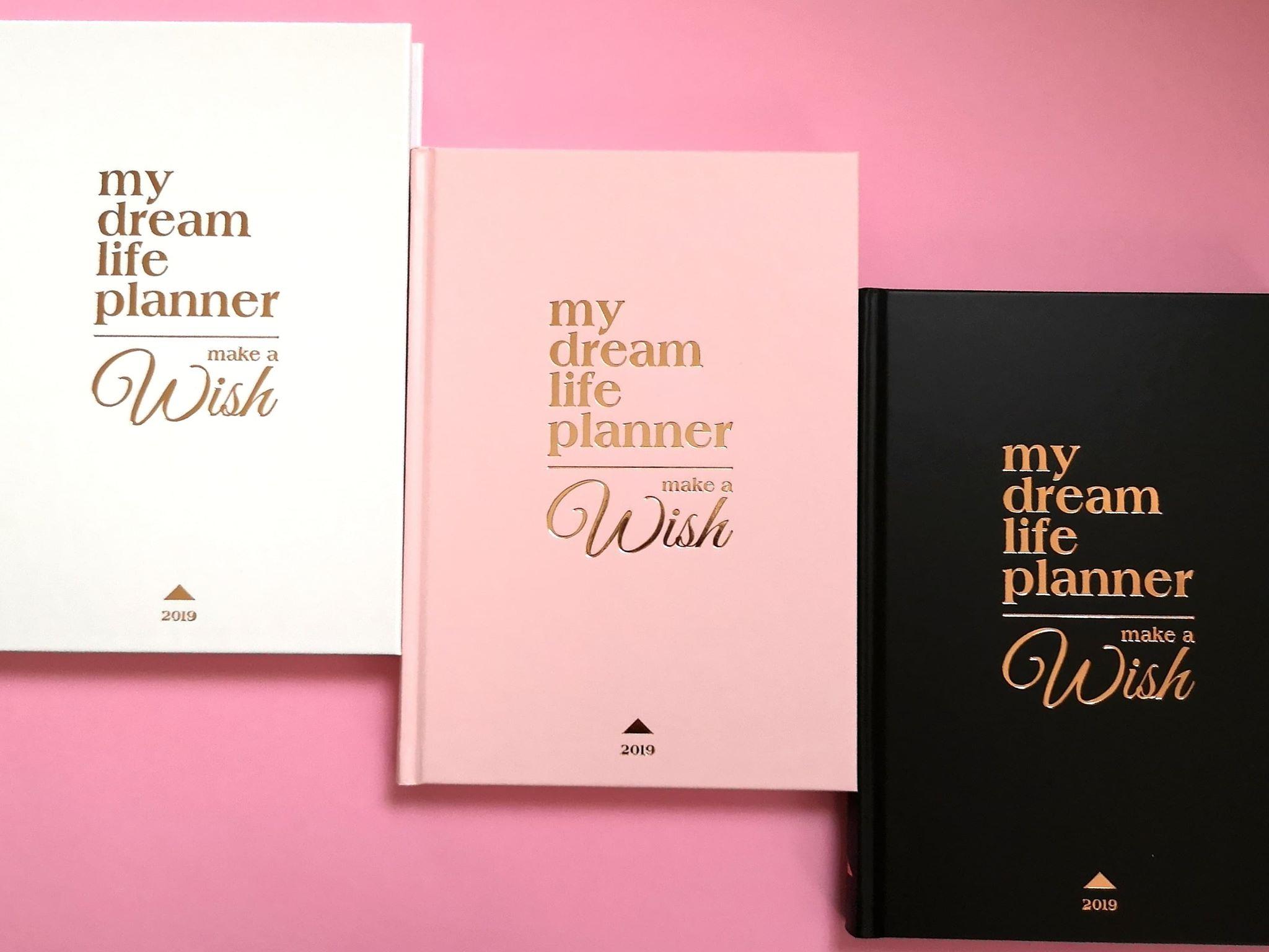 My Dream Life Planner határidőnapló