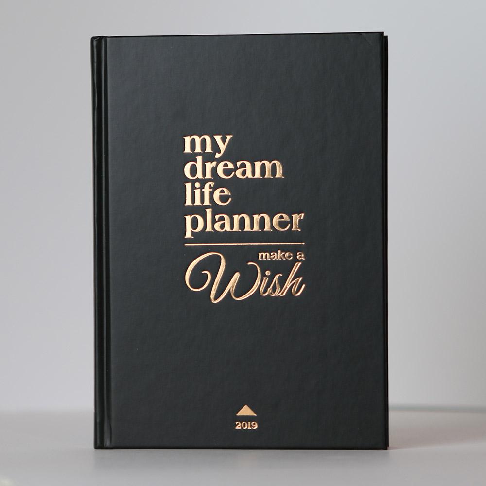 My Dream Life Planner határidőnapló - noir