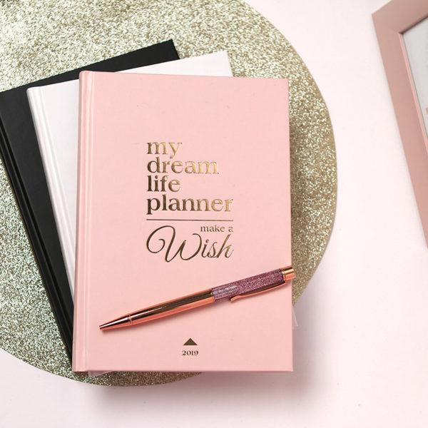 My dream Life Planner határidőnapló 3 színben