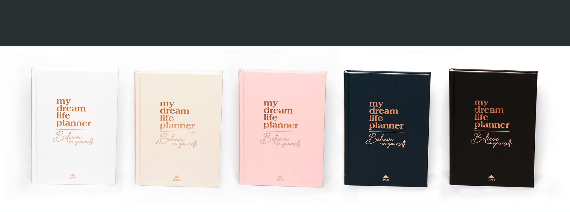 My Dream Life Planner 2021 hataridonaplo